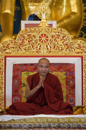17th Gyalwang Karmapa Woodstock NY May 19 2008