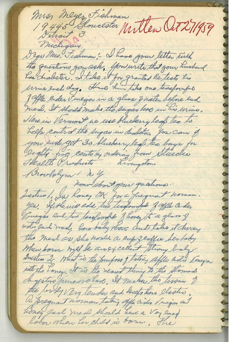 Dr. Jarvis' Notebook-Page 4